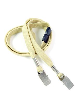 LRB324B-LGD Light Gold Conference Lanyards
