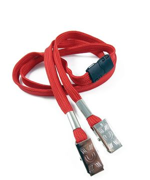 LRB324B-RED Red Conference Lanyards