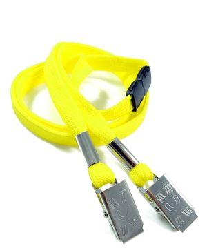 LRB324B-YLW Yellow Conference Lanyards