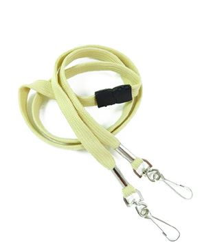 LRB325B-LGD Light Gold Event Lanyard