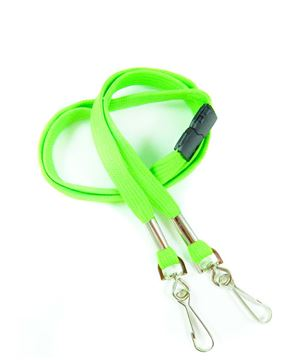 LRB325B-LMG Lime Green Event Lanyard