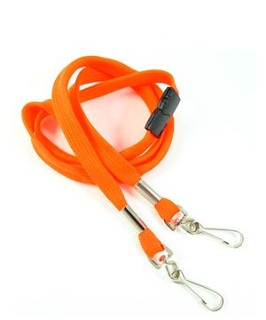 LRB325B-NOG Neon Orange Event Lanyard