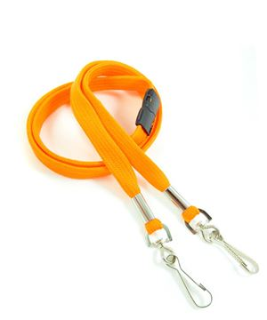 LRB325B-ORG Orange Event Lanyard