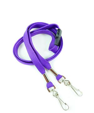 LRB325B-PRP Purple Event Lanyard