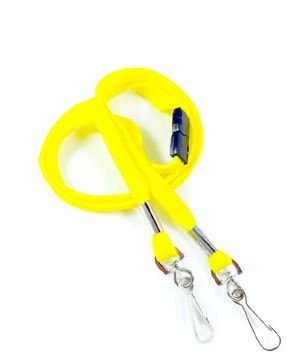 LRB325B-YLW Yellow Event Lanyard