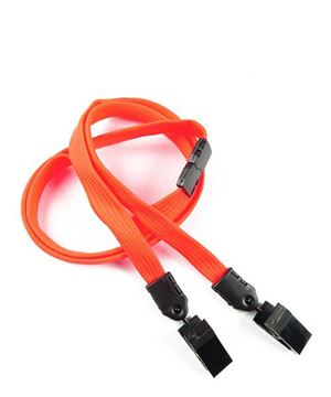 Neon Orange Breakaway Lanyard