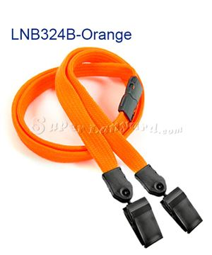 Orange Breakaway Lanyard