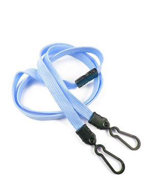 Baby Blue Id Lanyards