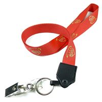 LNP0607N customized id strap clip lanyards