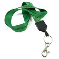 LNP0616N customized keyring clasp lanyards